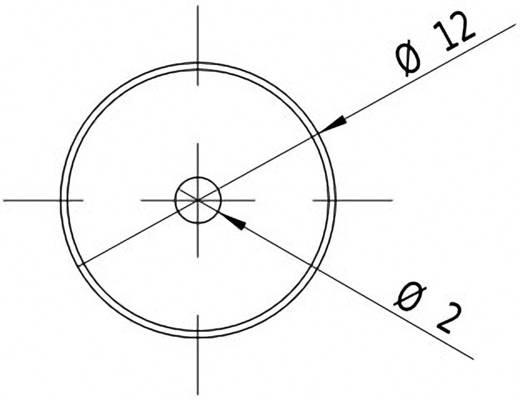 Lasermodul Punkt Rot 1 mW Picotronic DBI650-1-3-FA(12x40)-F3400