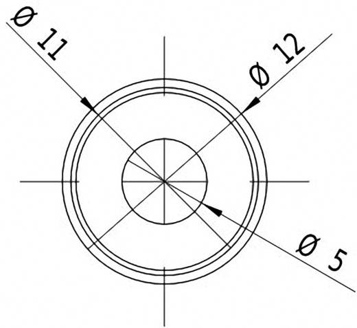 Lasermodul Punkt Rot 1 mW Picotronic DDI635-1-24(12x45)-C500