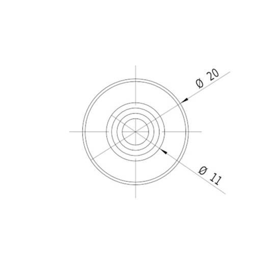 Lasermodul Linie Grün 10 mW Picotronic LD532-10-3(20x80)