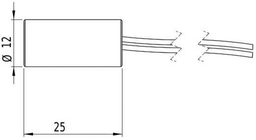 Lasermodul Punkt Rot 1 mW Picotronic DD635-1-5(12x25)