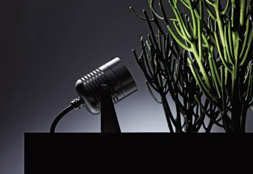 LED-Gartenstrahler LED 4 W Warm-Weiß dot-spot Clarios 25000 Silber