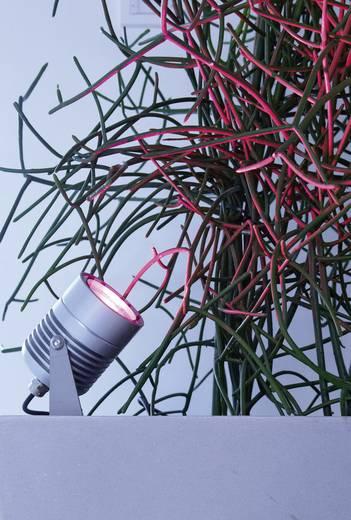 LED-Gartenstrahler LED 15 W RGB dot-spot Clarios 25003 Silber