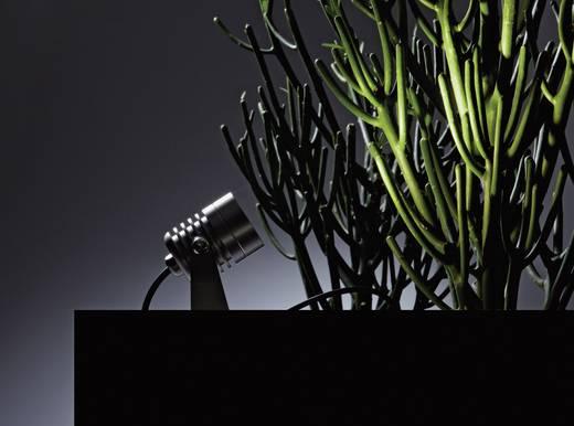 LED-Gartenstrahler 3er Set LED 9 W Warm-Weiß dot-spot Clarios 25103 Silber