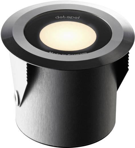 LED-Außeneinbauleuchte 3er Set 3 W Warm-Weiß dot-spot 25203 Aluminium