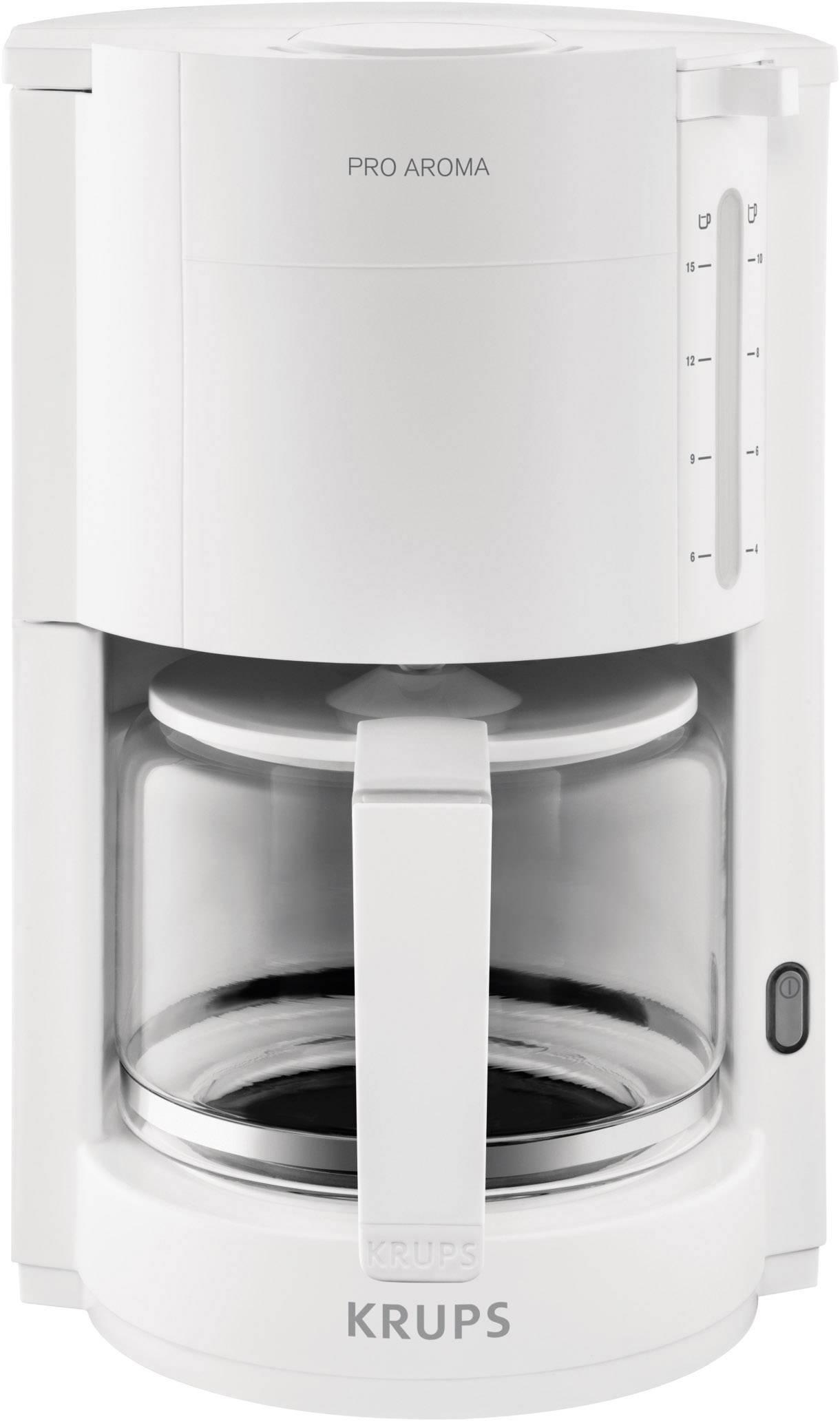 Krups Fassungsvermögen 15 Kaffeemaschine Tassen Proaroma Weiß BeWEdoQxrC