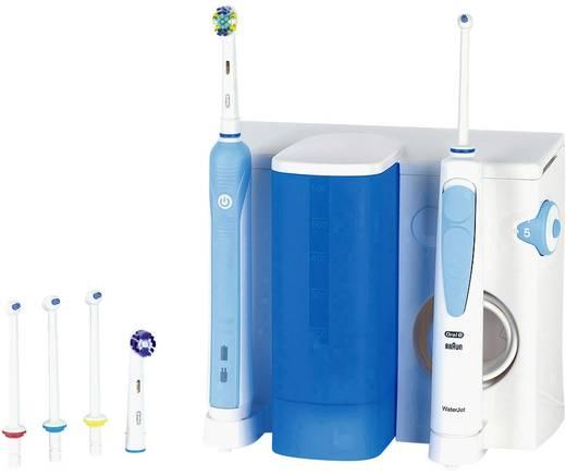 Munddusche, Elektrische Zahnbürste Oral-B Center 500 Rotierend/Oszilierend Weiß, Hell-Blau
