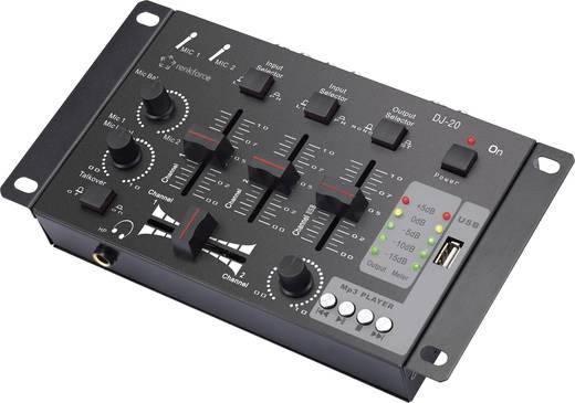 DJ Mixer Renkforce MX-26 USB