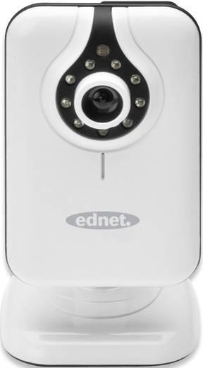 LAN, WLAN IP Kamera 640 x 480 Pixel ednet CUBE 87240