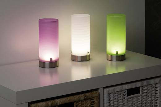LED-Tischlampe 3 W Brilliant Daisy G92968/04 Grün