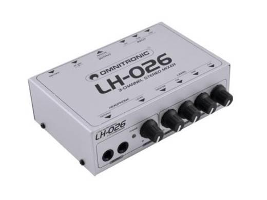 Mini-Mixer Omnitronic LH-026