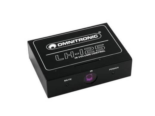 Stereo Lautstärke-Regler Omnitronic LH-125
