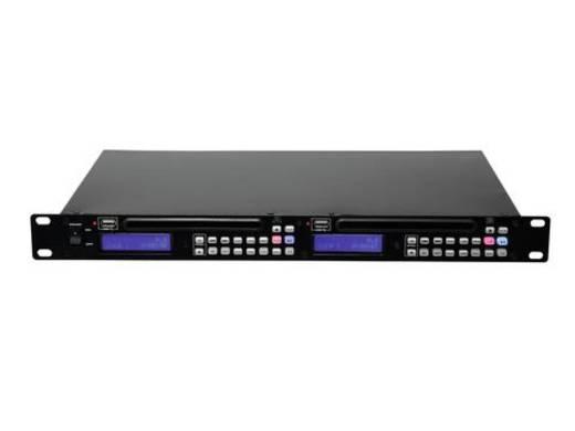 OMNITRONIC DMP-202 Dual-USB-CD-Player
