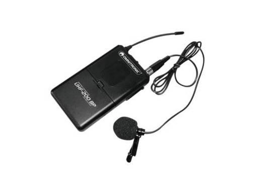 Ansteck Sprach-Mikrofon Omnitronic UHF-200 BP Übertragungsart:Funk