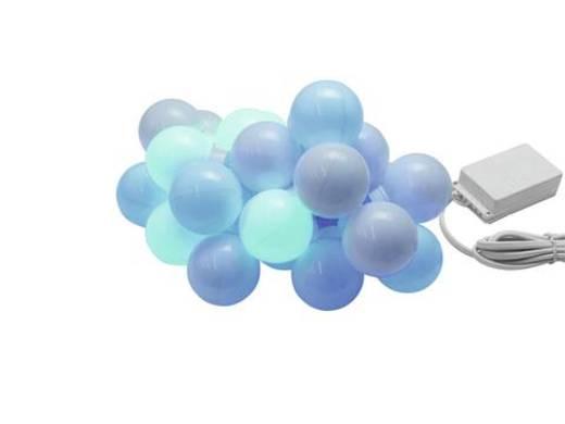 Lichterketten-System Innen netzbetrieben 20 LED Multi-Color Beleuchtete Länge: 6.9 m Eurolite LED Party Balls