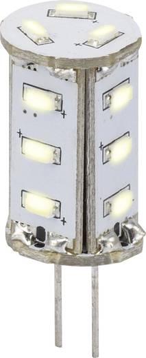 Sygonix LED G4 Stiftsockel 0.8 W = 5 W Kaltweiß (Ø x L) 13 mm x 33 mm EEK: A 1 St.