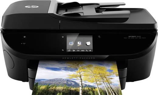 HP ENVY 7640 e-All-in-One Tintenstrahl-Multifunktionsdrucker A4 Drucker, Scanner, Kopierer, Fax LAN, WLAN, NFC, ADF