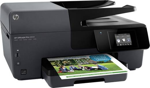 hp officejet pro 6830 e all in one tintenstrahl multifunktionsdrucker a4 drucker scanner. Black Bedroom Furniture Sets. Home Design Ideas