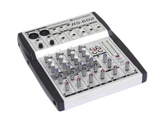 Konsolen-Mischpult Omnitronic RS-602 Anzahl Kanäle:6