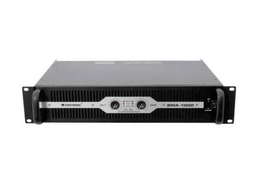 PA Verstärker Omnitronic SMA-1000 RMS Leistung je Kanal an 4 Ohm: 482 W