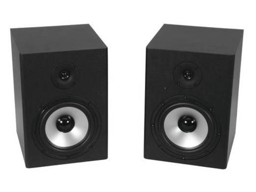Aktiver Monitor-Lautsprecher 20 cm 8 Zoll Omnitronic PME-8 20 W 1 St.