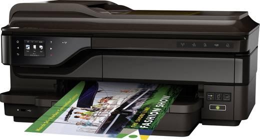 HP OfficeJet 7612 Wide Format e-All-in-One Tintenstrahl-Multifunktionsdrucker A3+ Drucker, Scanner, Kopierer, Fax LAN, W