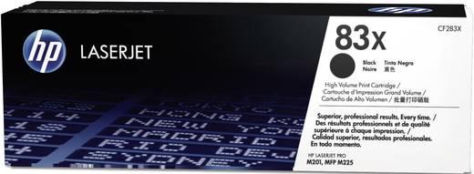 HP Toner 83X CF283X Original Schwarz 2200 Seiten