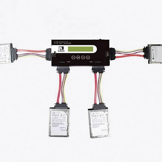 3fach Festplatten-Kopierstation Renkforce PRO368 SATA mit Löschfunktion, tragbar