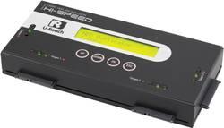 3násobná duplikační stanice pevných disků Renkforce PRO368 SATA s funkcí mazání, přenosite