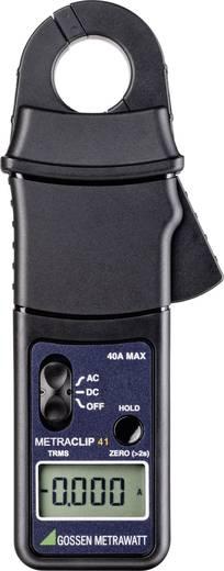 Stromzange, Hand-Multimeter digital Gossen Metrawatt METRACLIP 41 Kalibriert nach: DAkkS CAT III 300 V Anzeige (Counts)