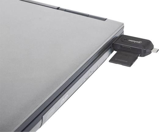 manhattan usb sd adapter 1x usb 2 0 stecker a 1x usb 2. Black Bedroom Furniture Sets. Home Design Ideas