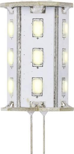 LED žárovka Renkforce 12 V, G4, 46.2 mm, 2.4 W = 20 W, teplá bílá