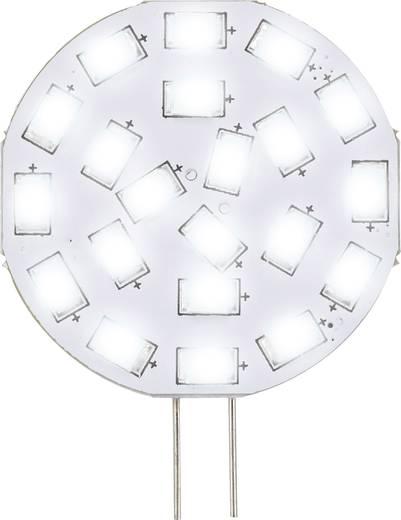 led g4 stiftsockel 3 w 30 w kaltwei x l 35 mm x 47 mm eek a sygonix 1 st. Black Bedroom Furniture Sets. Home Design Ideas