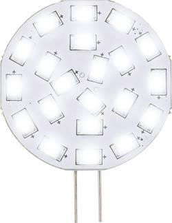LED žárovka Renkforce 12 V, G4, 47 mm, 3 W = 30 W, studená bílá