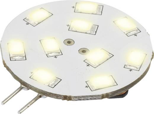 LED G4 Stiftsockel 1.5 W = 15 W Warmweiß (Ø x L) 30 mm x 42 mm EEK: A Renkforce 1 St.