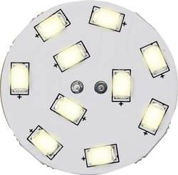 LED žárovka Renkforce 12 V, G4, 16.75 mm, 1.5 W = 15 W, teplá bílá