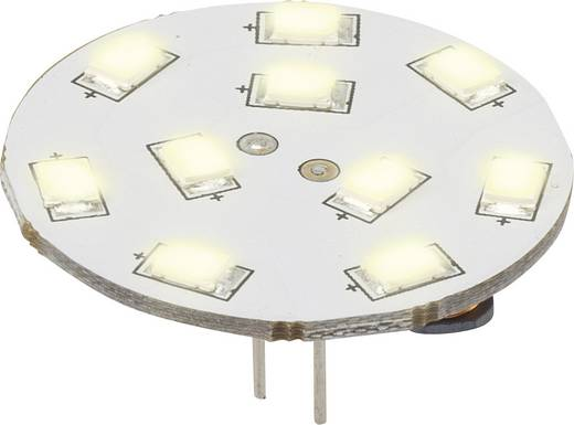 LED G4 Stiftsockel 1.5 W = 15 W Warmweiß (Ø x L) 30 mm x 16.75 mm EEK: A Renkforce 1 St.