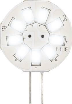 LED žárovka Renkforce 12 V, G4, 35 mm, 1.5 W = 10 W, studená bílá