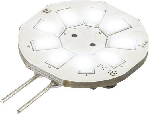 Sygonix LED G4 Stiftsockel 1.5 W = 10 W Kaltweiß (Ø x L) 23 mm x 35 mm EEK: A 1 St.
