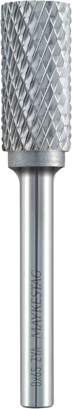 Image of Frässtift 10 mm Form A Zylinder (ZYA) ohne Stirnverzahnung Alpen 777606110100 Hartmetall Schaft-Ø 6 mm