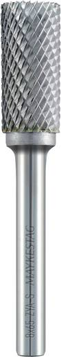 Frässtift 6 mm Form A Zylinder (ZYA-S) mit Stirnverzahnung Alpen 778606106100 Hartmetall Schaft-Ø 6 mm