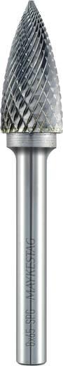 Frässtift 12 mm Form G Spitzbogen (SPG) Alpen 780606112100 Hartmetall Schaft-Ø 6 mm