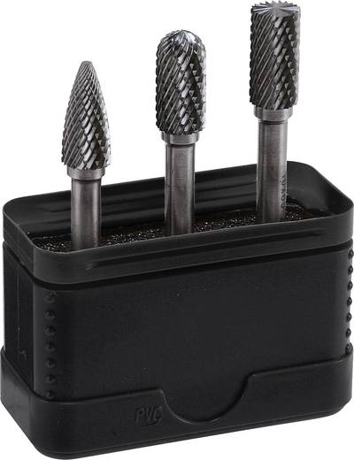 Frässtift-Set Alpen 776000003100 Hartmetall Schaft-Ø 6 mm