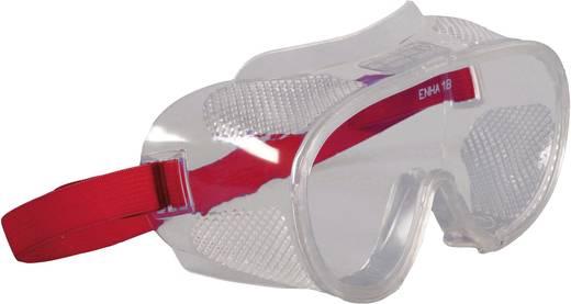 Vollsichtbrille 2661 Rot DIN EN 166-1