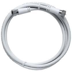 SAT prepojovací kábel Axing MAK 500-80, 85 dB, 5.00 m, biela