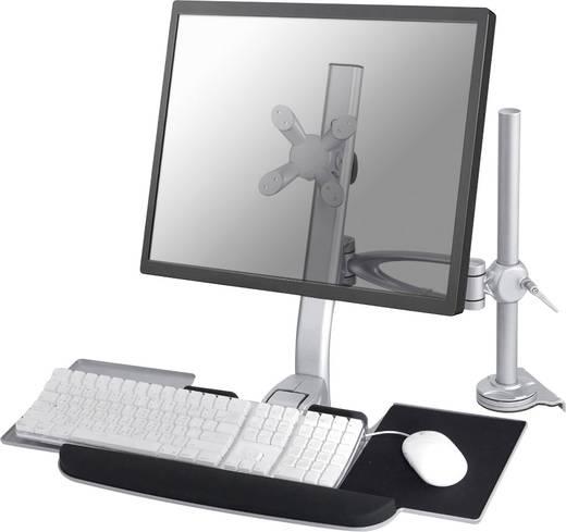 """Monitor-Tischhalterung 25,4 cm (10"""") - 61,0 cm (24"""") Neigbar+Schwenkbar, Rotierbar NewStar Products FPMA-D1020KEYB"""