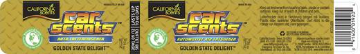 Duftdose California Scents Golden State 1 St.