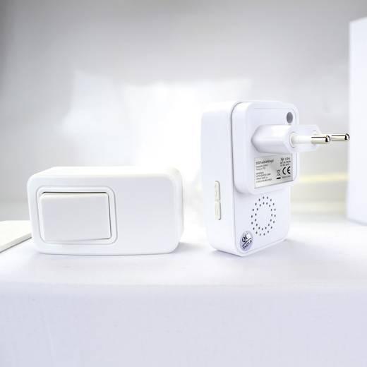 Funkklingel Komplett-Set Batteriefreie Funktürklingel ECO X4-LIFE 701393