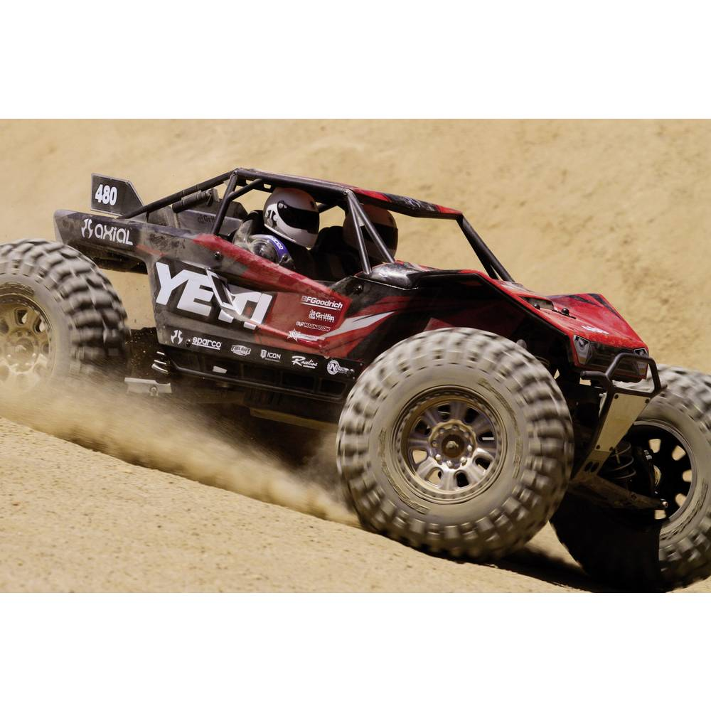 Axial Yeti XL Brushless 1:8 RC Model Car Electric Buggy