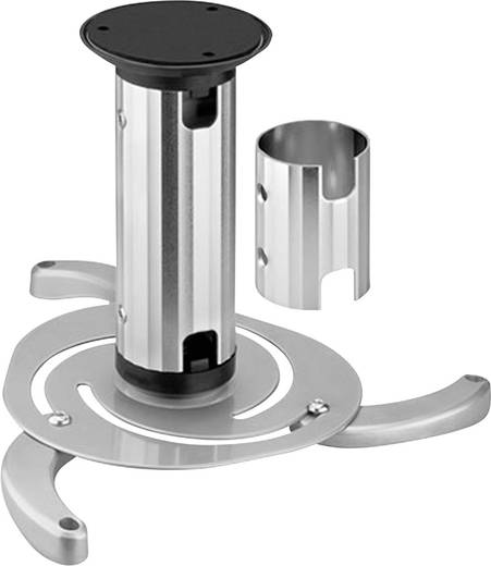 Beamer-Deckenhalterung Neigbar, Drehbar Boden-/Deckenabstand (max.): 15 cm NewStar Products BEAMER-C80 Silber
