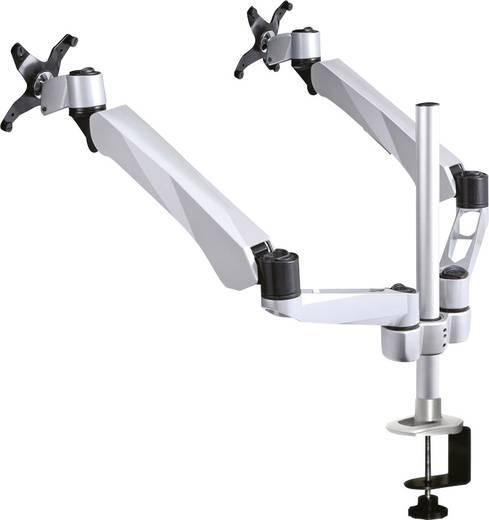 """2fach Monitor-Tischhalterung 25,4 cm (10"""") - 68,6 cm (27"""") Neigbar+Schwenkbar, Rotierbar NewStar Products FPMA-D975D"""
